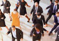 employés qui dansent