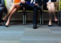 salle d'attente pour passer un entretien